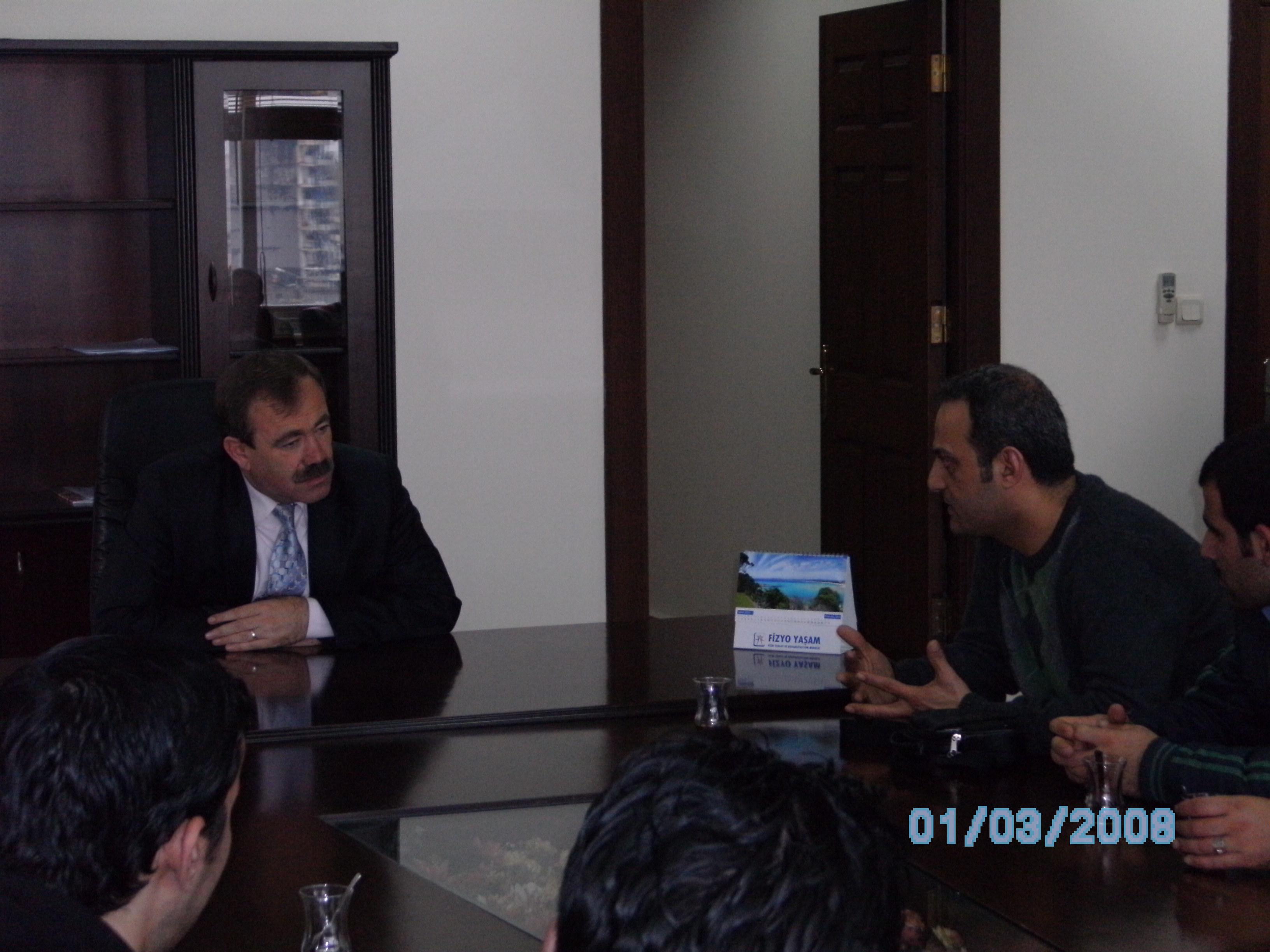 Akdeniz belediye Başkanı ile sohbetGüncellenme Zamanı: 09.05.2010 22:58:12